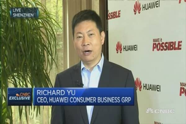 Huawei CEO: Innovation spurs growth