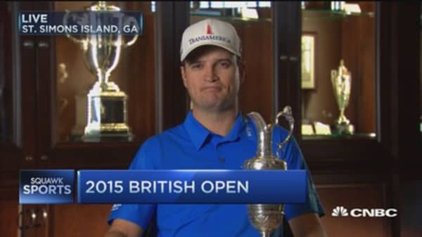 PGA's Zach Johnson: 'Oversome with honor'