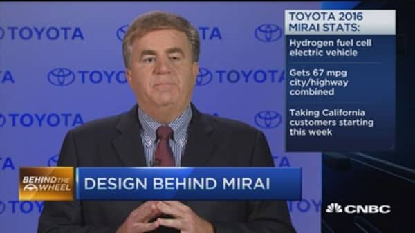 Back to the future with Toyota's Mirai