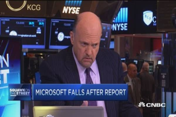 Cramer: Microsoft's Nokia was 'so painful'