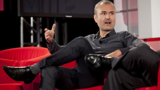 Nick Denton, founder of Gawker Media.