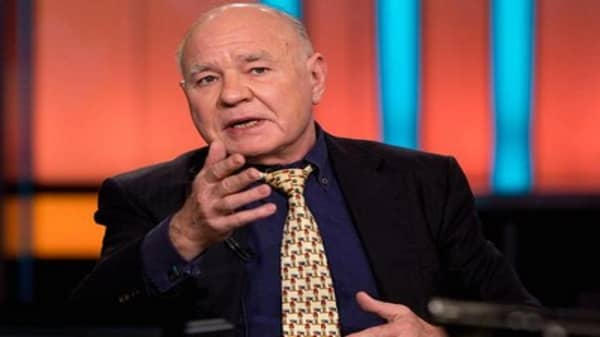 Marc Faber: Why stocks could drop up to 40 percent