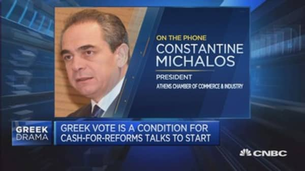 Greece parliament set to vote on reforms
