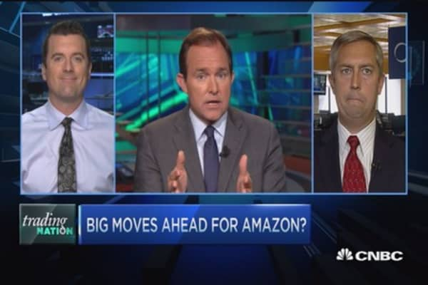 Trading Nation: Big moves ahead for Amazon?