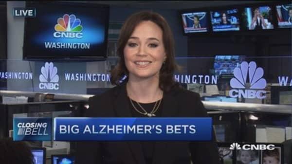 Big Alzheimer's bets
