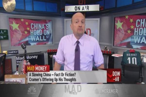 Cramer: All comes back to China