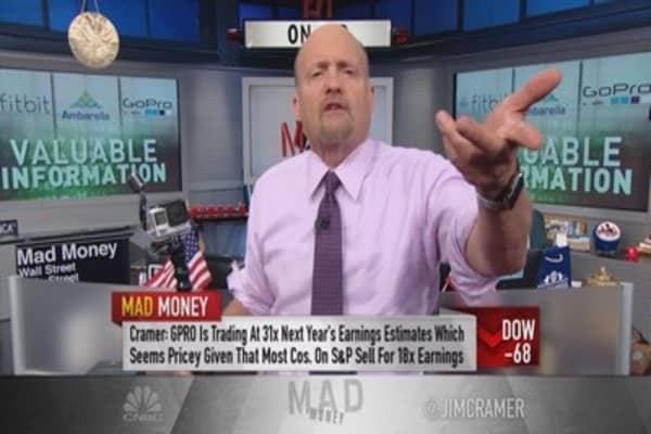 Cramer: GoPro's valuation perfectly justified
