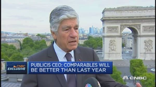 Sapient integration going well: Publicis CEO