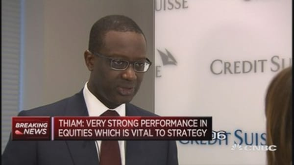 Credit Suisse CEO hints at capital hike
