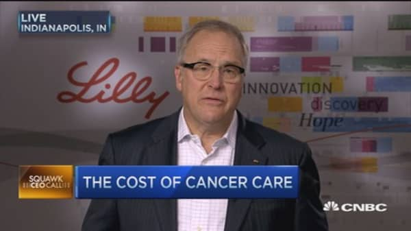Getting affordable access to cancer drugs: Eli Lilly CEO