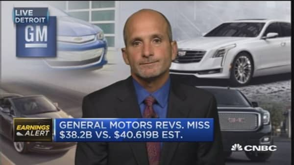 GM CFO: Expect stronger second half