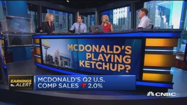 McDonald's Q2 beats Street, comp sales down 2.0%