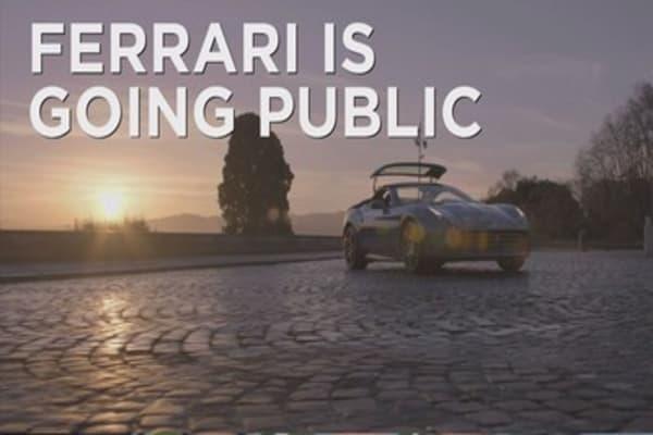 Ferrari goes public