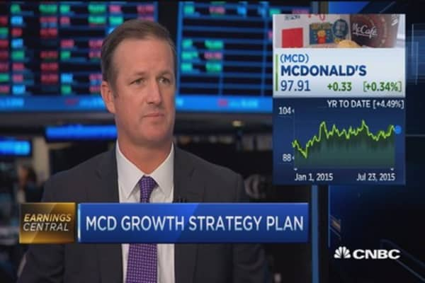 McDonald's reports weak US sales