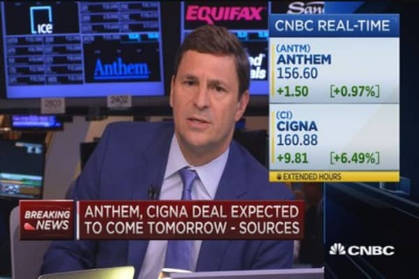 Anthem to announce deal to buy Cigna on Friday