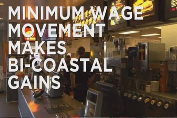 Minimum wage making strides