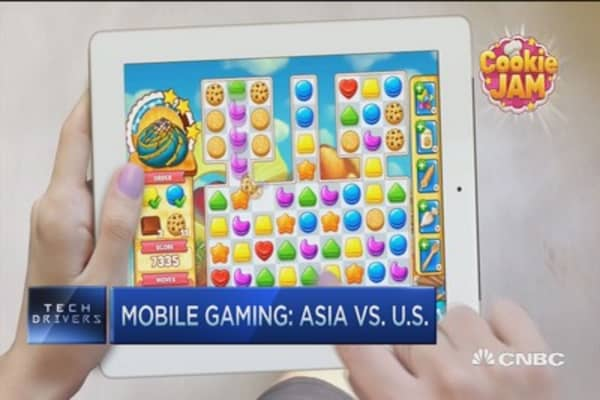 Mobile gaming boom