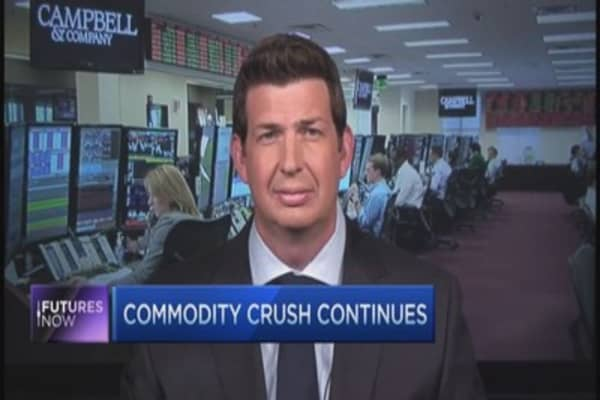 Big picture for commodities weak: Strategist