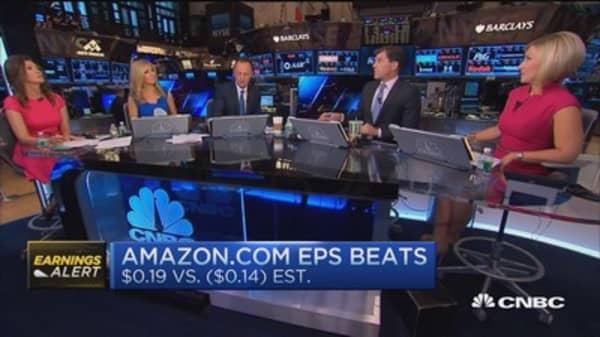 Amazon shows profit growth!
