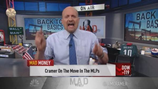 Cramer: If you can handle pain, buy MLPs