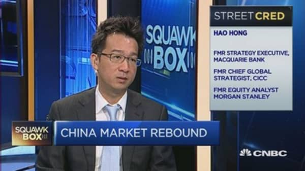 Is the rebound in China a dead cat bounce?