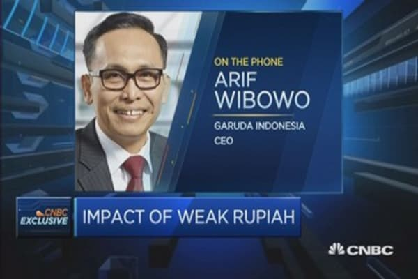 Garuda Indonesia: Currency hedging is important