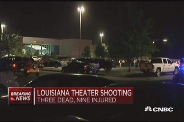 3 dead in Louisiana theater shooting