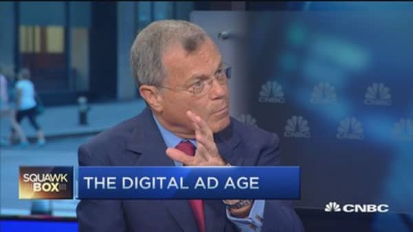 Advertising's digital challenge: Sir Martin Sorrell