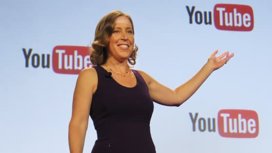 Susan Wojcicki, CEO, YouTube speaking at #VidCon, July 23, 2015.