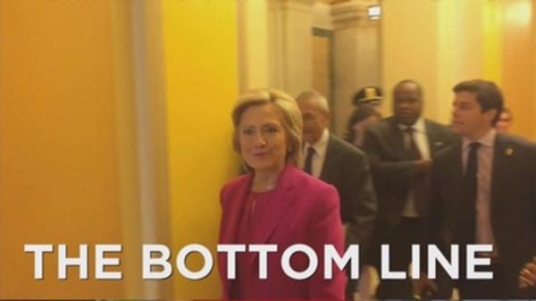 Hillary Clinton proposes changes to capital gains taxes