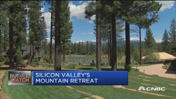 Silicon Valley's mountain retreat