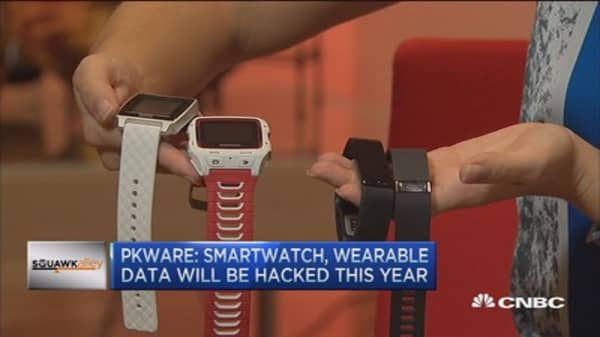 Smart watch and wearable data will be hacked: Pro