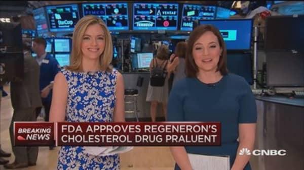 FDA approves cholesterol drug