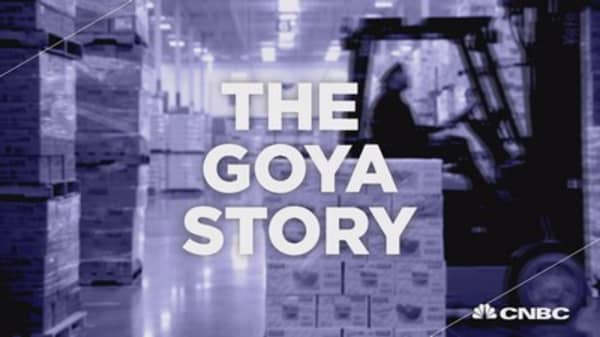 The rise of Goya and Latino culture in U.S.