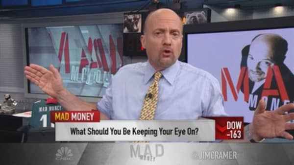 Cramer: Market about Chinese pain & Fed worries - not earnings
