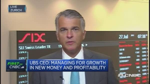 UBS CEO talks wealth management