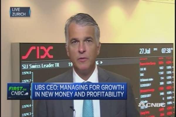 UBS CEO talks wealth management