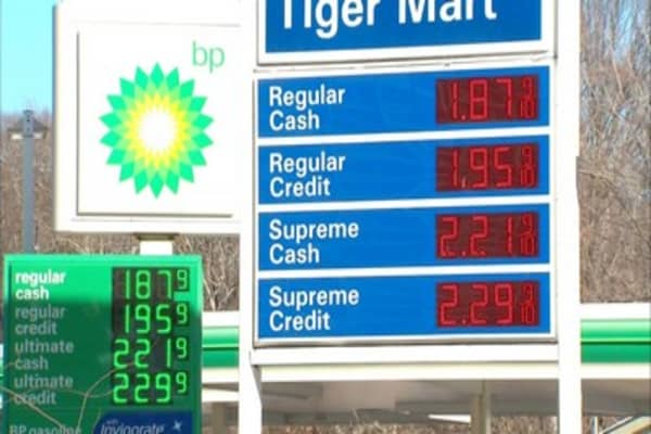Gas prices trickling down