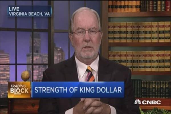 King dollar still tops: Dennis Gartman