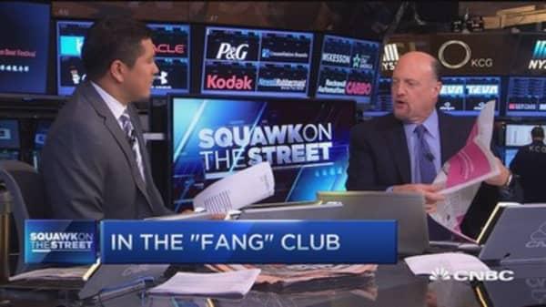 Cramer: FANG masking everything