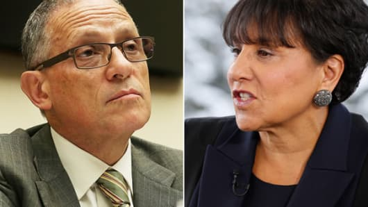 Fred Hochberg and Penny Pritzker