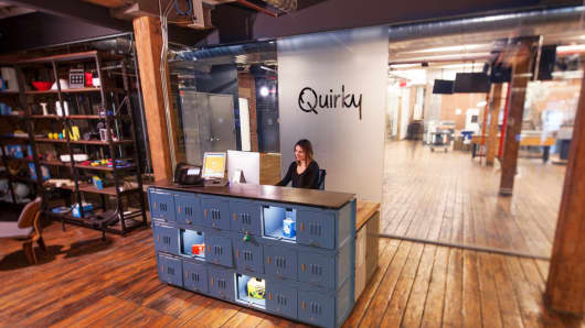 Quirky offices
