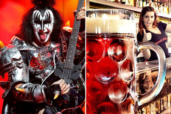 Gene Simmons of KISS and Rock & Brew
