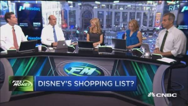 Disney's shopping list?