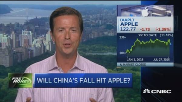 China's impact on Apple