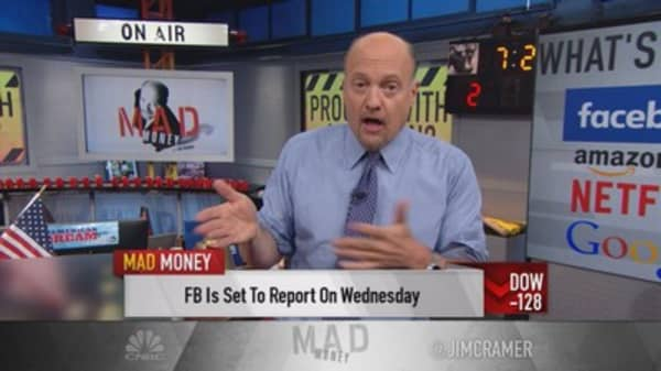 FANG alone can't save the market: Cramer