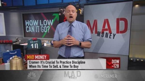 Cramer's shopping list for a pullback