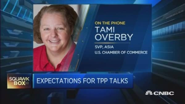 USCC: For TPP talks, the end is in sight