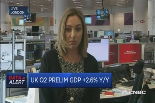 GDP shows UK is back on track: Pro