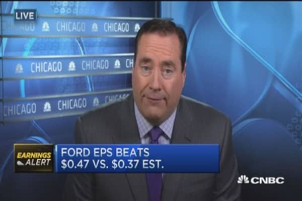 Ford posts earnings beat, cuts China forecast